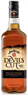 Jim Beam Bourbon Devil's Cut 90@ 1.00l